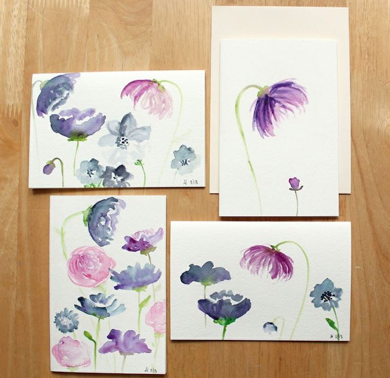 Watercolor Painting For Beginners Flowers