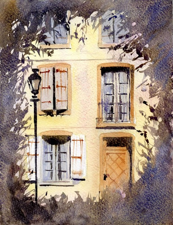 600x780 Some Amazing Step By Step Watercolor Painting Tutorials For