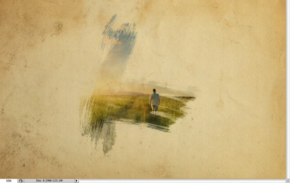 580x366 Super Cool Watercolor Effect In 10 Steps In Photoshop