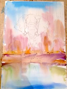 236x314 The 47 Best Watercolour Painting Step By Step Images