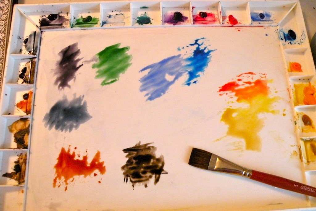 1024x683 Watercolor Painting For Beginners Step By Step Fresh Baby Steps To