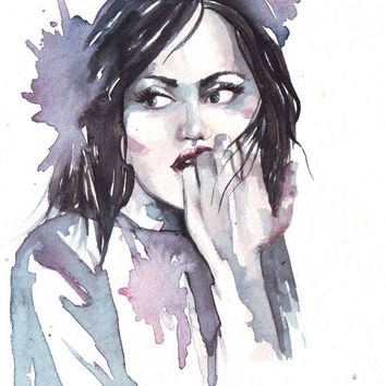 354x354 Best Portrait Painting Hair Products On Wanelo