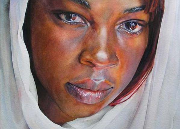 598x429 Black Portraits Paintings