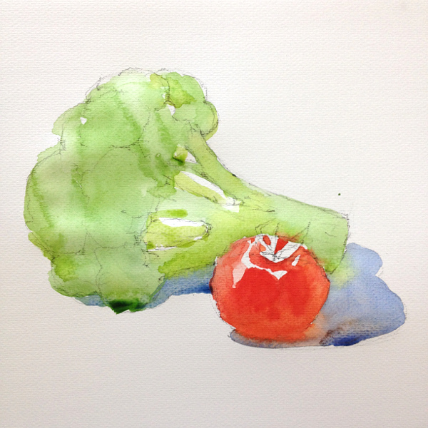 600x600 Learn How To Paint Fruits And Vegetables