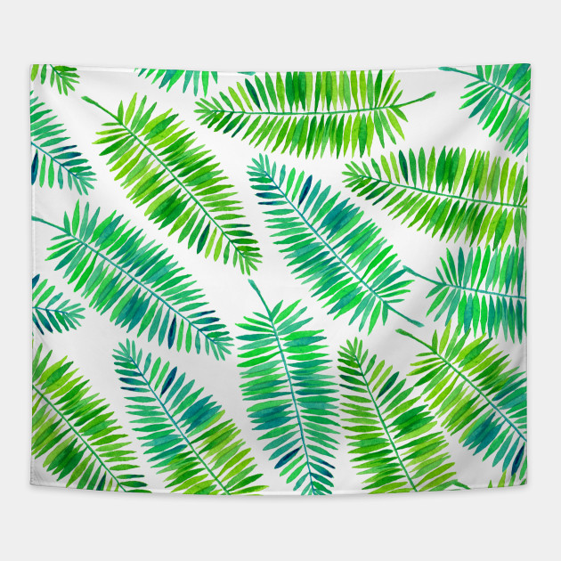 630x630 Watercolor Palm Leaves Pattern