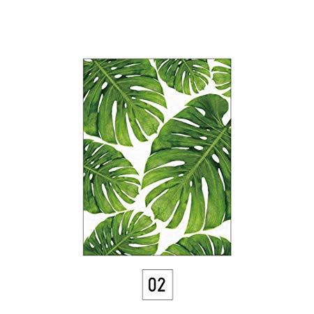 450x450 Zhuotop 30x40cm Watercolor Palm Leaves Floral Prints Poster Canvas