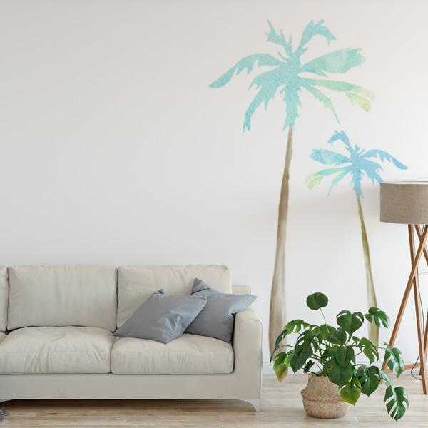 600x600 Palm Tree Wall Decals Labeldaddy