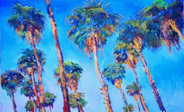 375x228 Palm Trees Painting By Suren Nersisyan Saatchi Art
