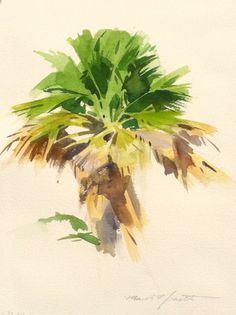 236x315 Palm Trees Painted In Watercolor. Winslow Homer. Beautiful! 4