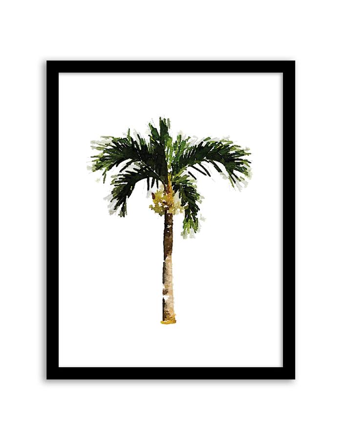 700x900 Free Printable Palm Tree Watercolor Wall Art