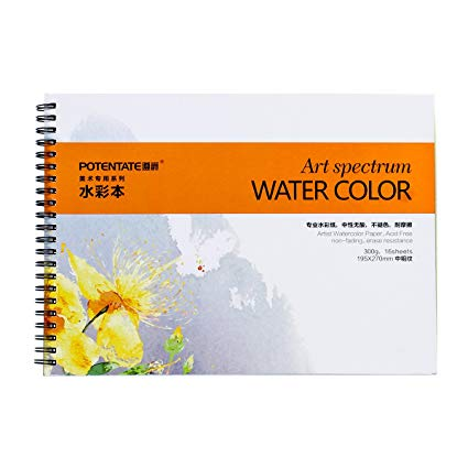 425x425 Spiral Bound Watercolor Paper Pad