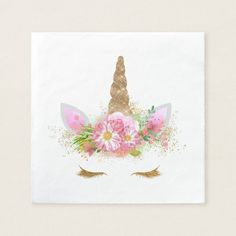236x236 Romantic Pink Floral Garden Watercolor Paper Napkin Pink Blush