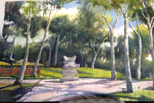 500x333 Central Park Watercolors
