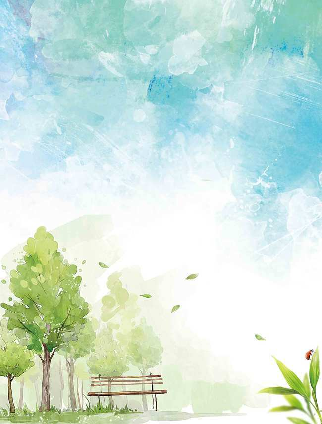 650x856 Clean Water Park Hello September Poster Background Psd, Fresh