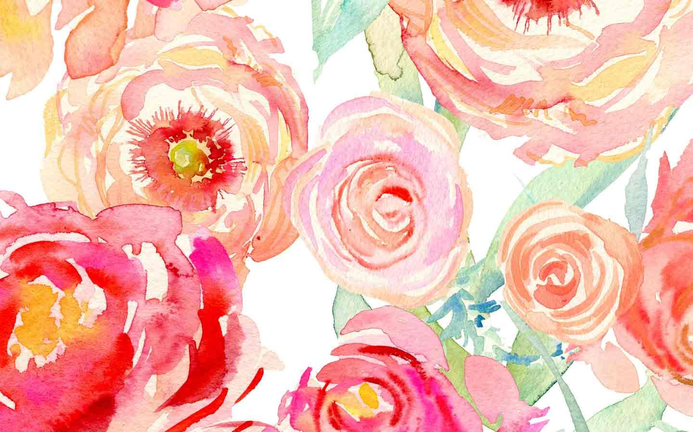 Watercolor Pattern Wallpaper At Getdrawings Com Free For Personal