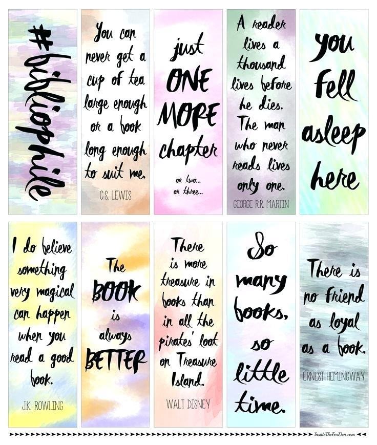 picture regarding Printable Bookmarks Pdf named Watercolor Pdf at  Free of charge for person employ