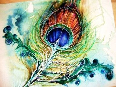 750cd191a Watercolor Peacock Feather at GetDrawings.com | Free for personal ...