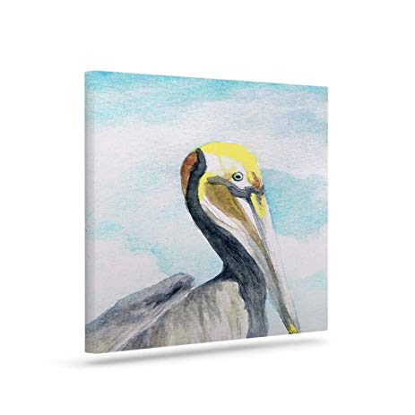 463x463 Kess Inhouse Rosie Brown Pelican Coastal Watercolor