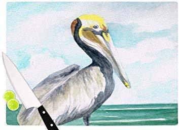 355x256 Kess Inhouse Rosie Brown Pelican Coastal Watercolor