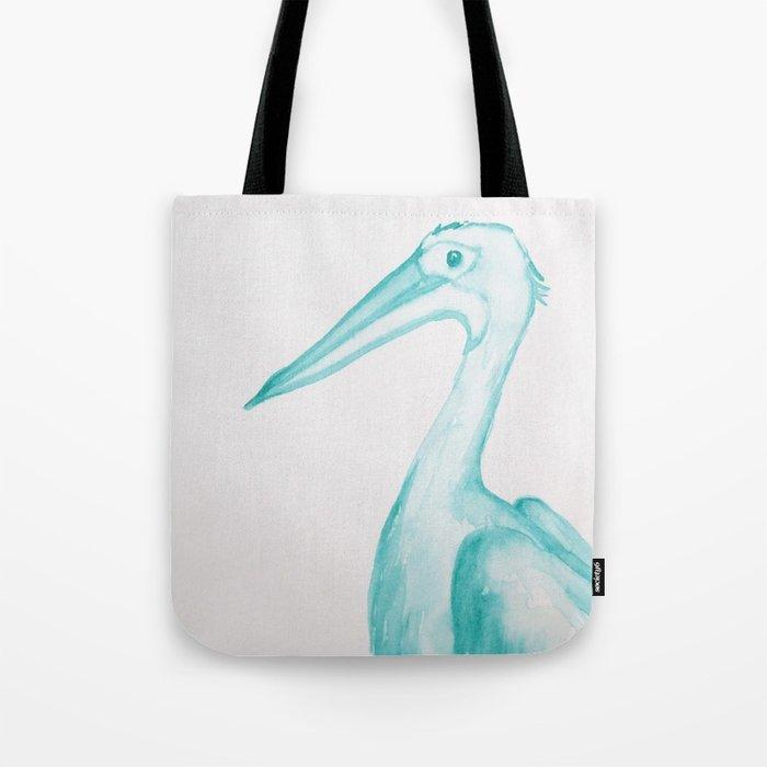 700x700 Watercolor Pelican Tote Bag By Patriciaroberta Society6