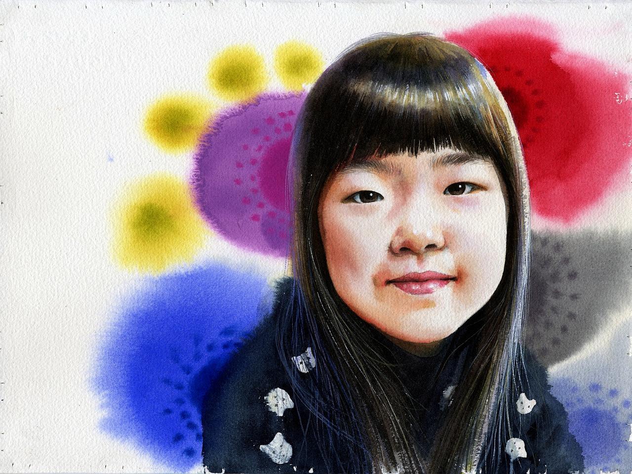 1280x960 Watercolor,portrait Watercolor,art,figure Paintings,watercolor