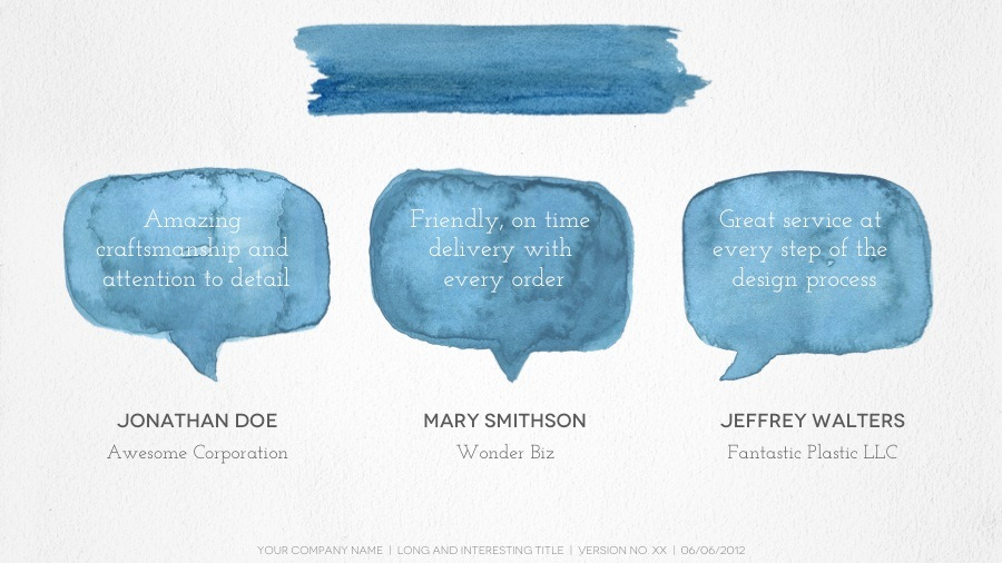 Watercolor Powerpoint Template At Free For