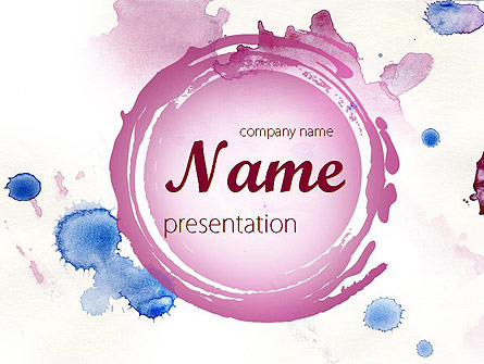 Watercolor Powerpoint Template At Getdrawings Com Free For
