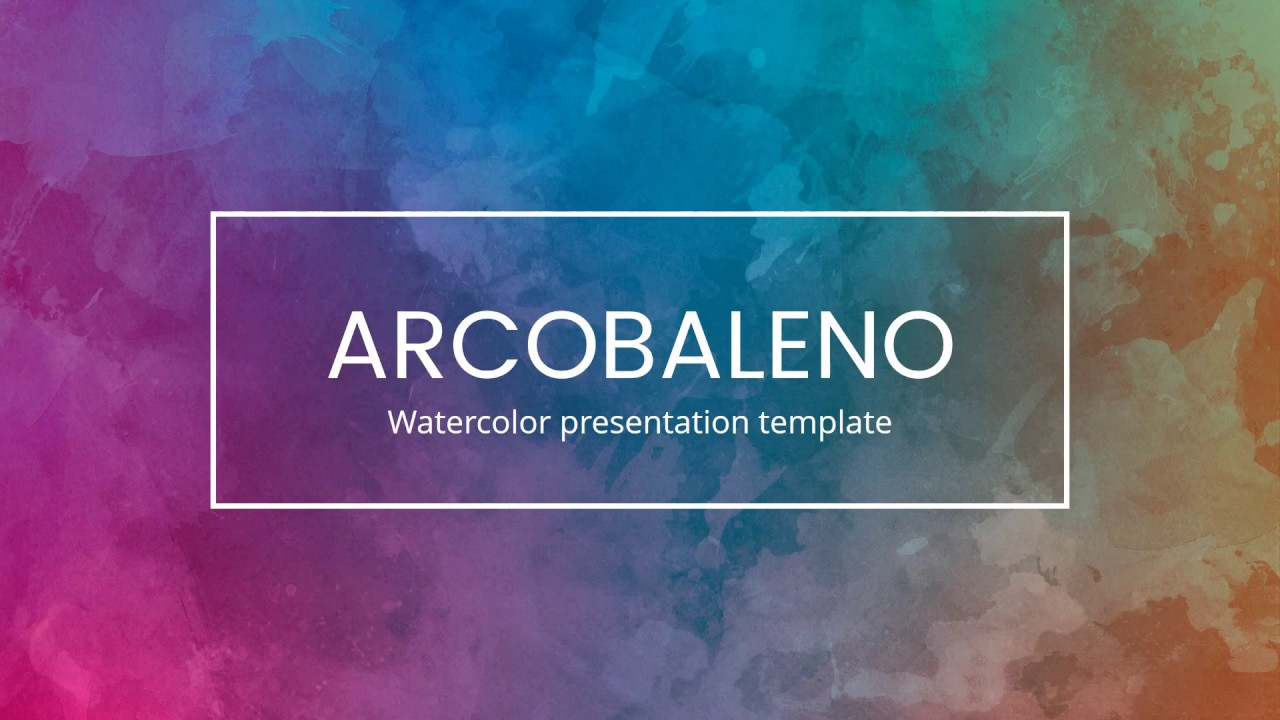 Watercolor Powerpoint Template at GetDrawings | Free download