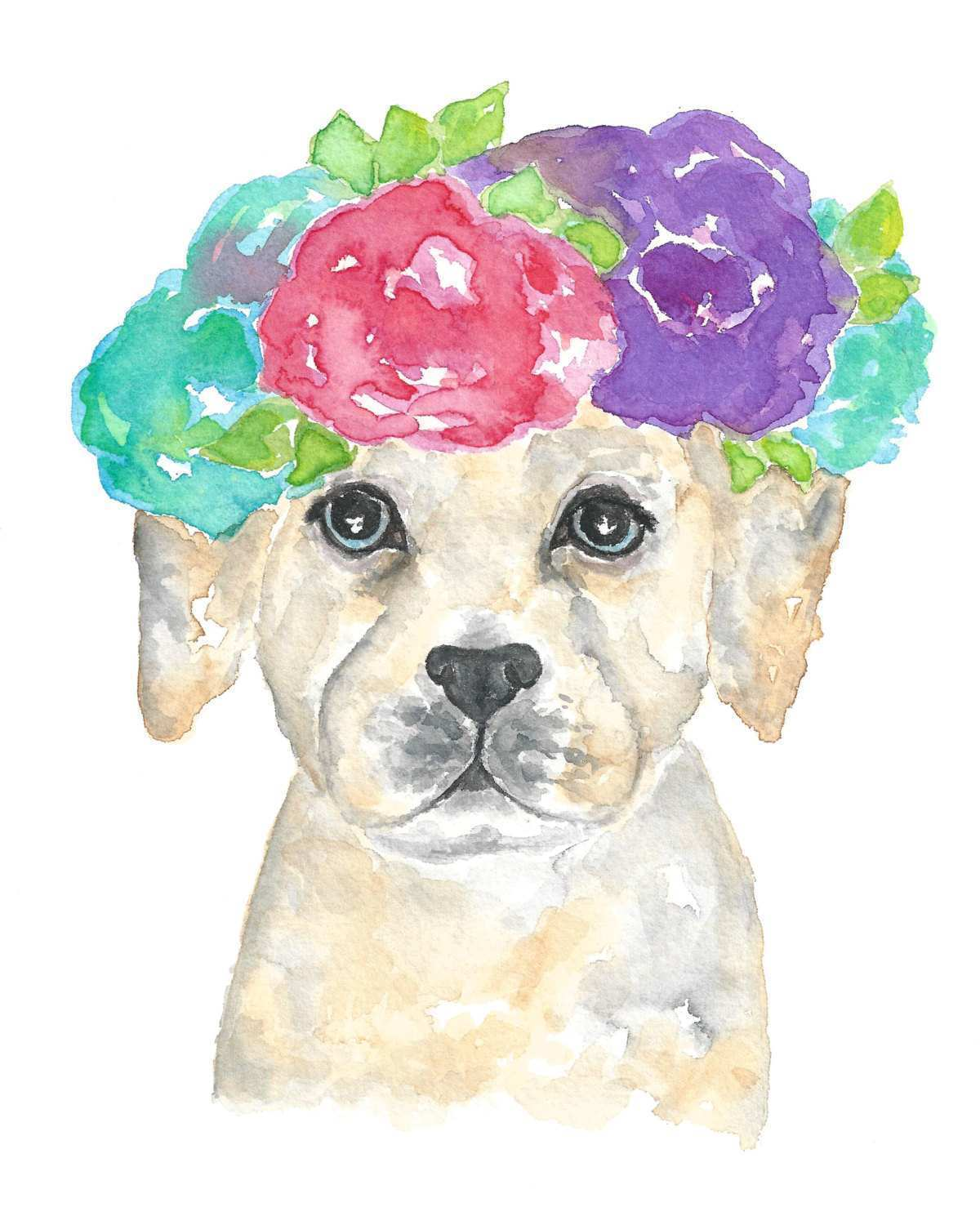 1200x1500 Puppy Painting Fresh Dog Print Dog Art Watercolor Dog Animal