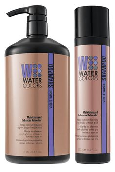 Watercolor Purple Shampoo
