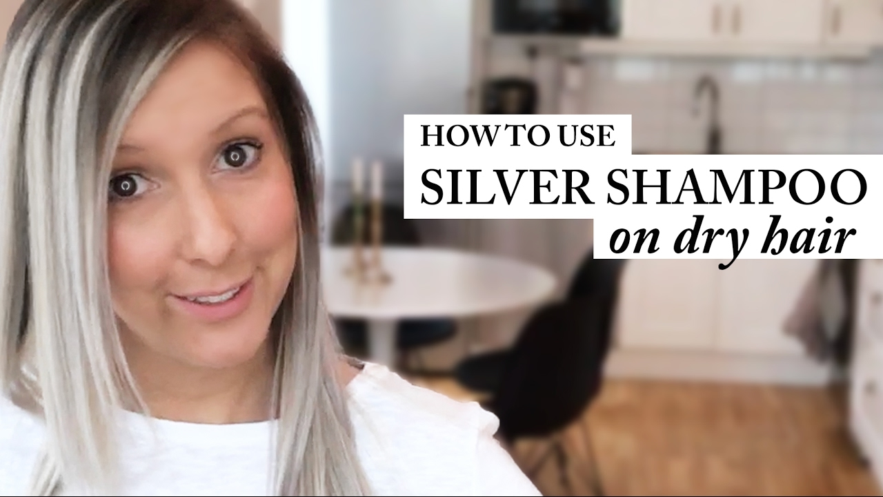 1280x720 How To Use Silver Shampoo Best Result Dry Hair Purple