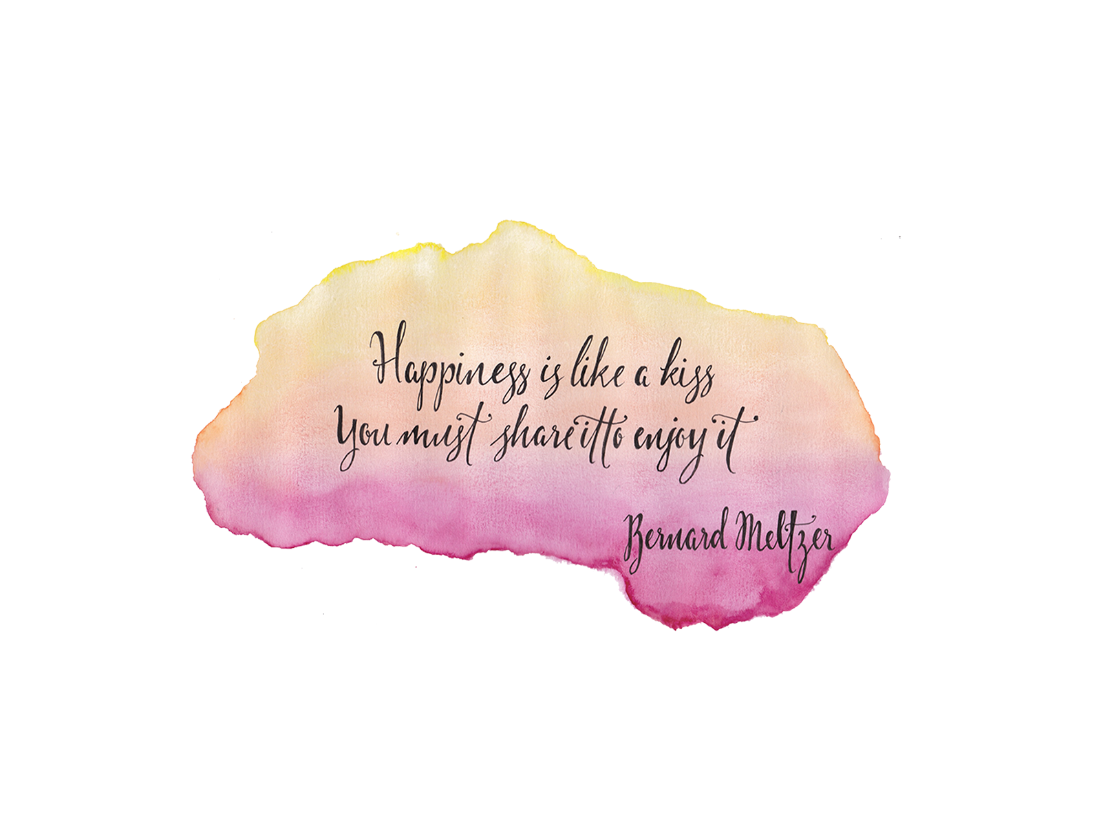 Watercolor Quotes At Getdrawings Free For Personal Use