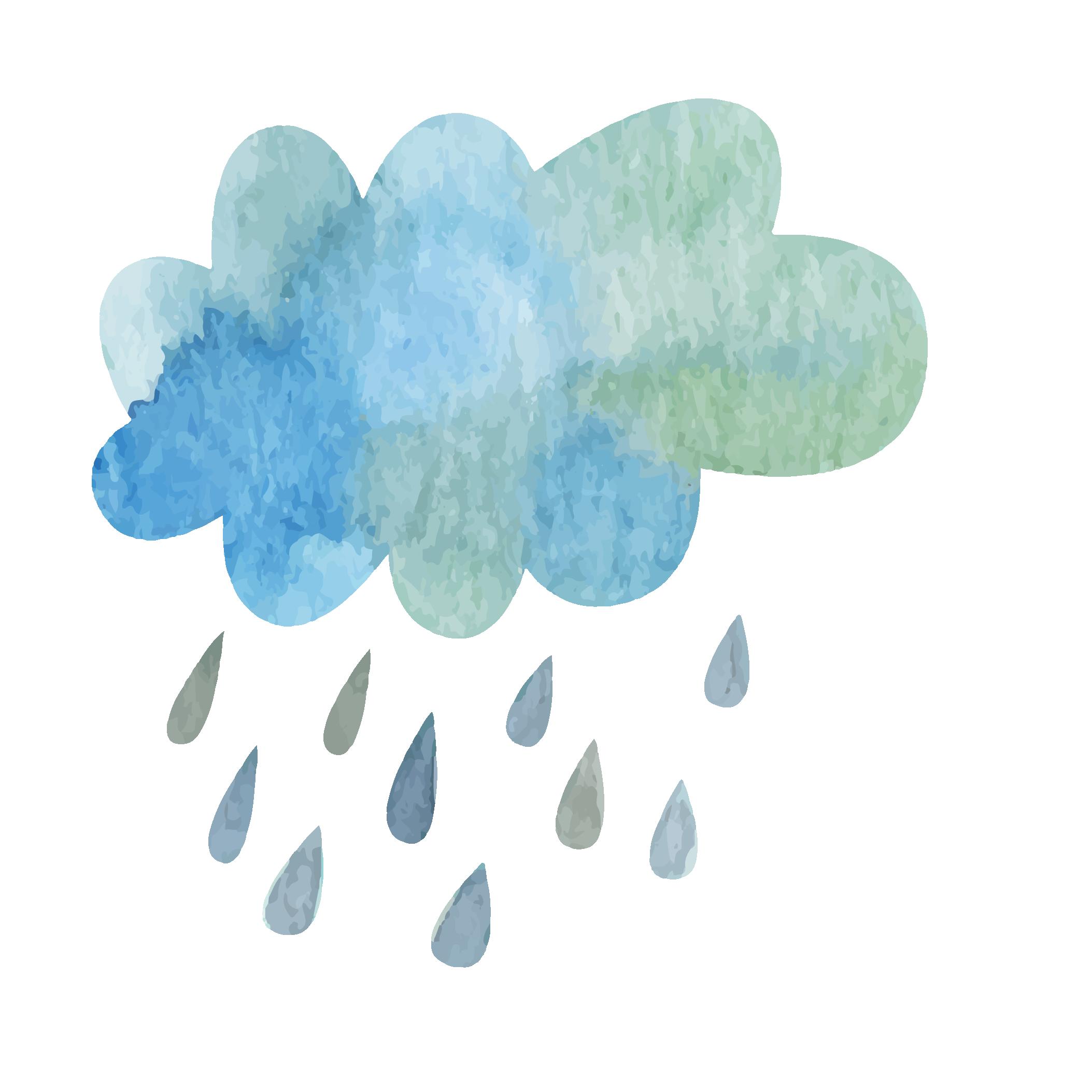 watercolor rain at getdrawings  free download