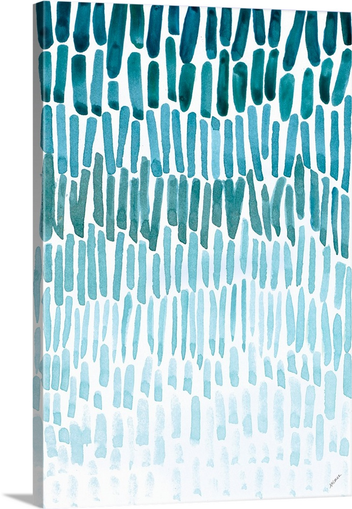 691x1000 Watercolor Raindrops Wall Art, Canvas Prints, Framed Prints, Wall