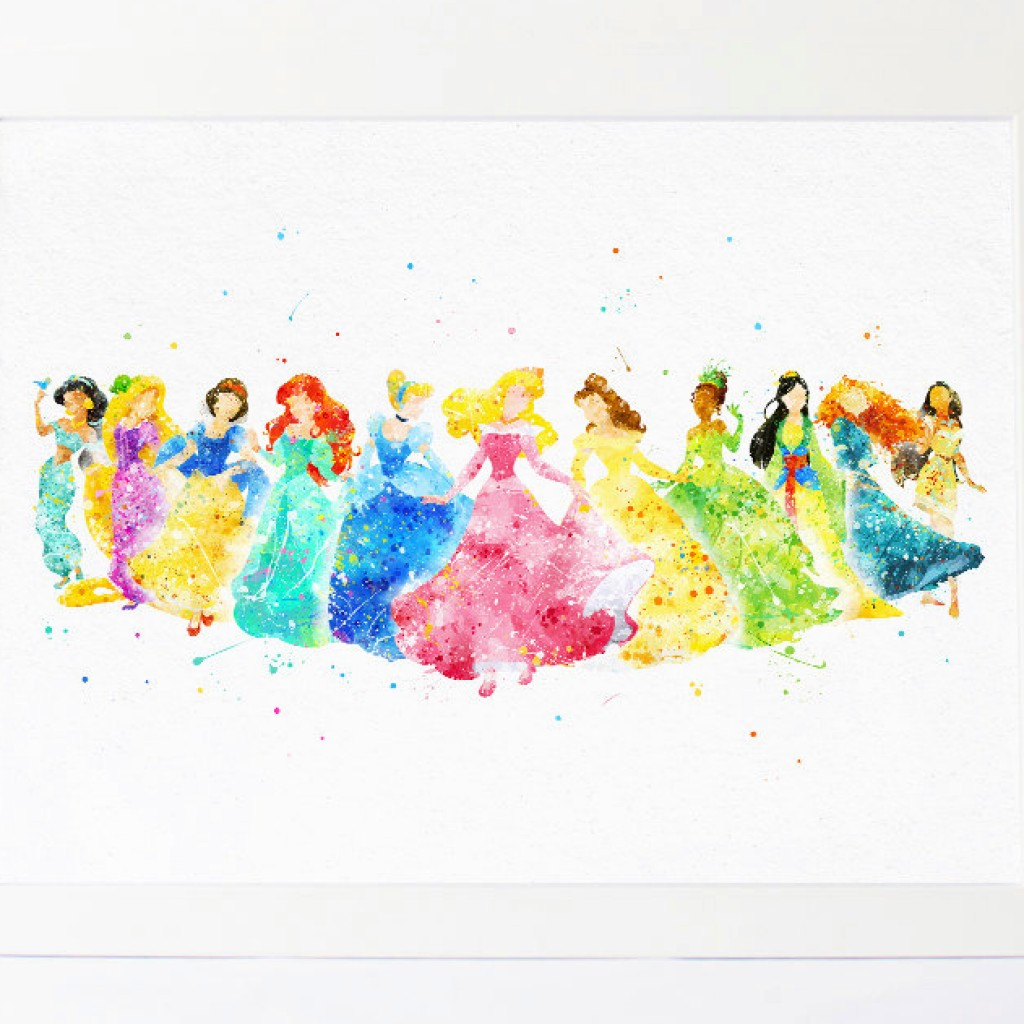 1024x1024 Disney Princess Collection