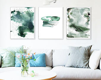 340x270 Watercolor Wall Art Etsy