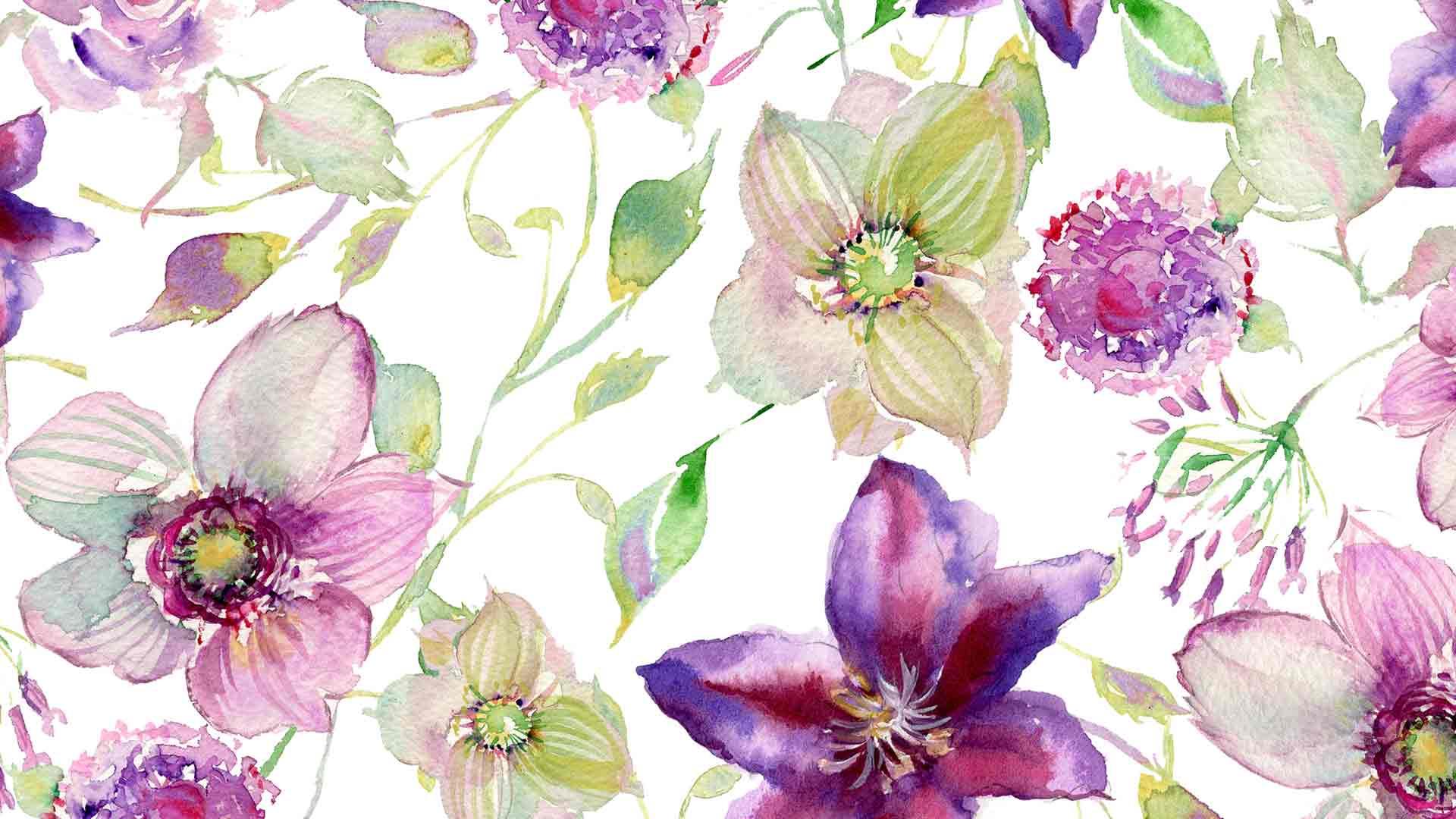Watercolor Rose Wallpaper At Getdrawings Free Download