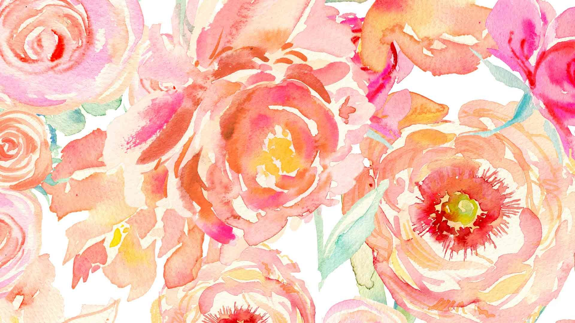 Watercolor Rose Wallpaper At Getdrawings Com Free For Personal Use