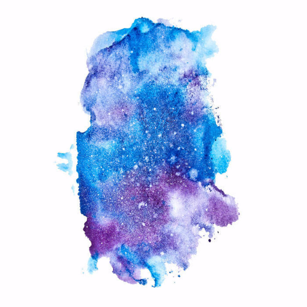 1000x1000 How To Paint The Galaxy With Watercolors Blitsy