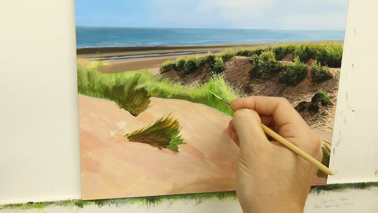 1280x720 41 How To Paint Sand Dunes Part 2 Oil Painting Tutorial