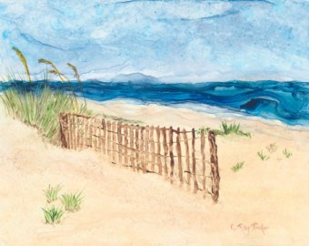 340x270 Sand Dunes Painting Etsy