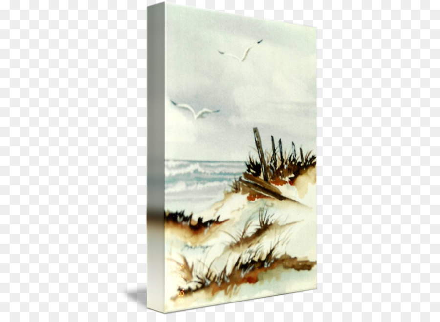 900x660 Watercolor Painting Seascape Wind Wave