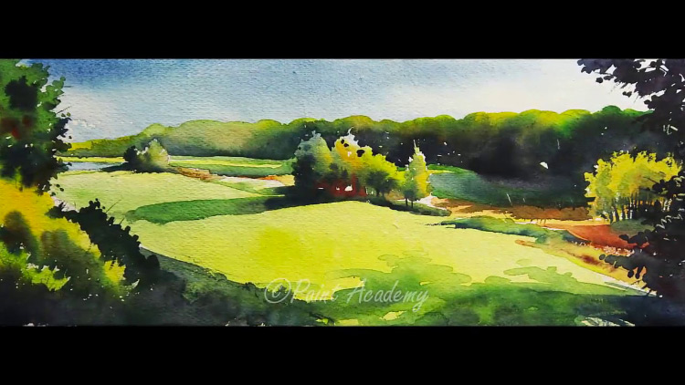 Watercolor Scenery