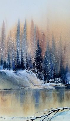 Watercolor Scenes Beginners