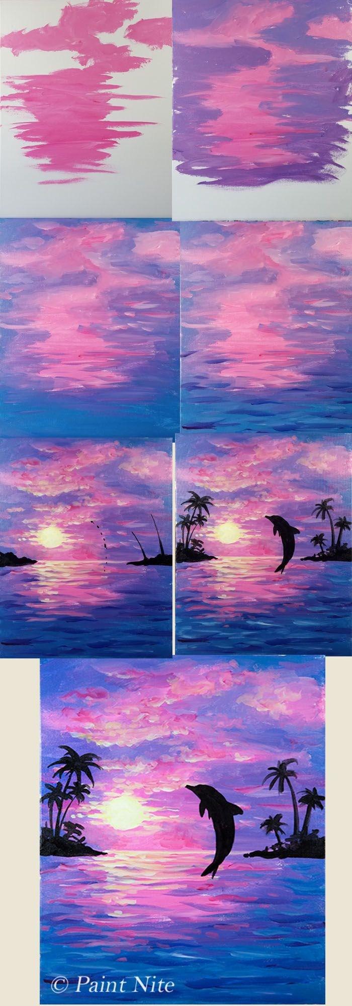 Watercolor Scenes Beginners At Getdrawings Com Free For