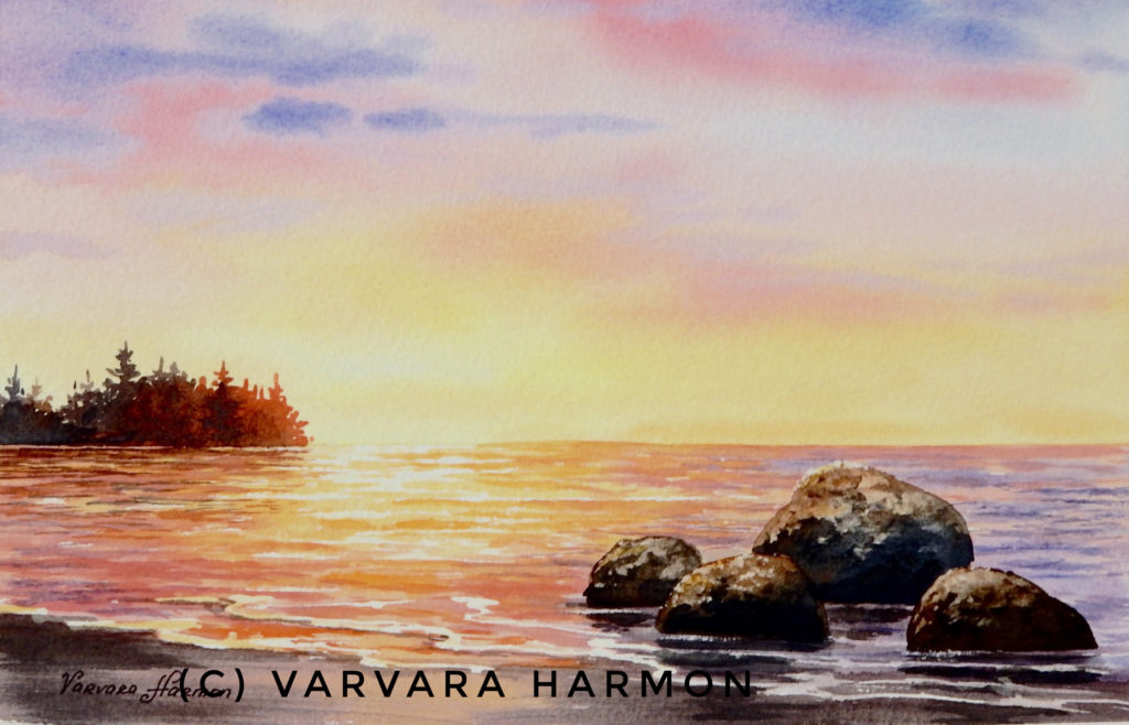 1024x658 Watercolor Seascape One Day Workshop