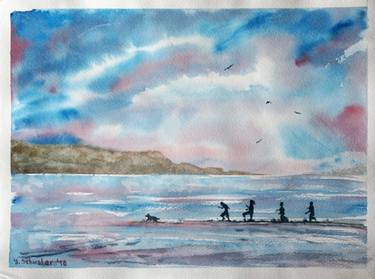 375x279 Watercolor Seascape Paintings For Sale Saatchi Art
