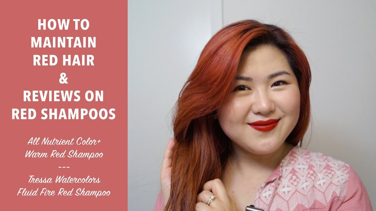 1280x720 Tips To Maintain Red Hair Red Shampoos Amp Favorite Products
