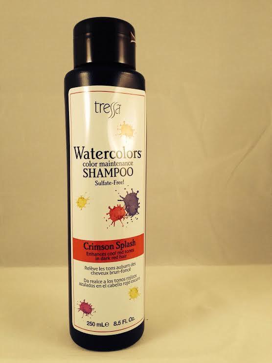 556x741 Tressa Water Colors Crimson Splash Shampoo 8.5 Oz Watercolors Ebay