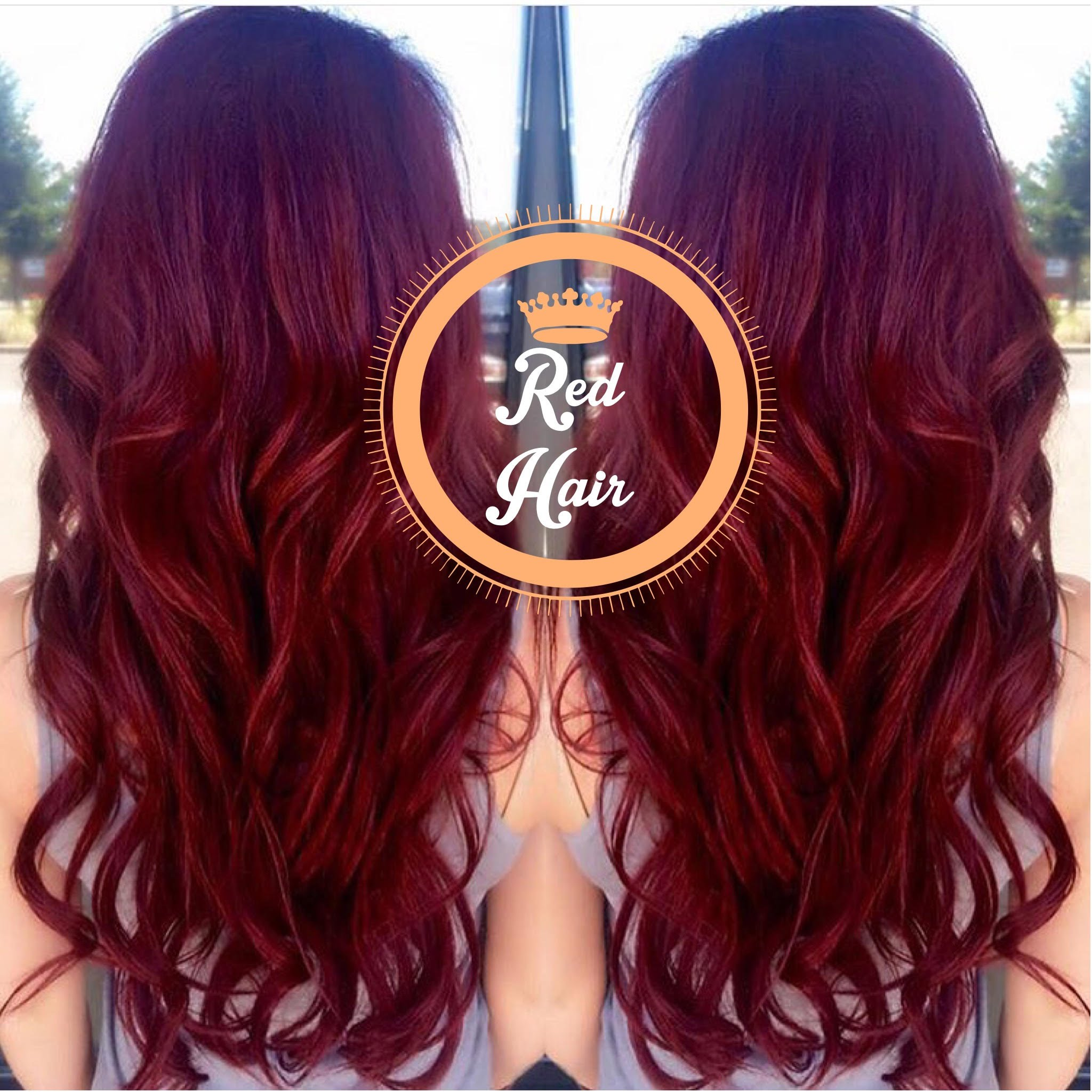 Watercolor Shampoo For Red Hair